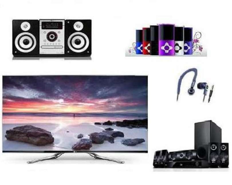 Televisions, home cinemeas, Hi-Fi systems, MP3-MP4 Players, DVD Players and more